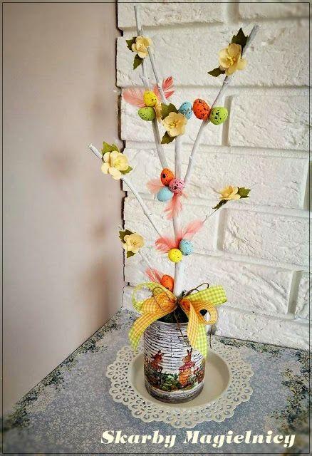 od A do Zet: Wiosenne drzewko z kwiatami WOC