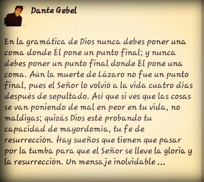 Dante Gebel ♡