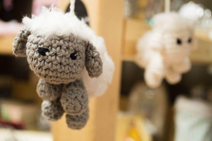 Crochet sheep - gehaakt schaap bij Jouw Marktkraam Uithoorn