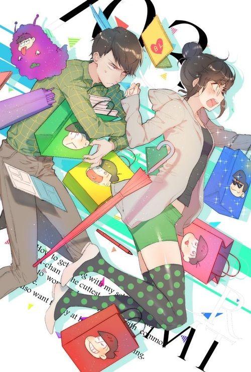 Osomatsu-san- Choromatsu #Anime「♡」genderbent