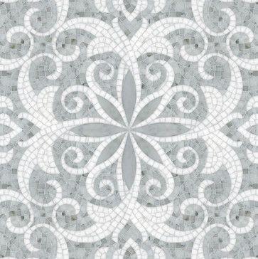 Natural Stone Mosaics & Waterjet Patterns - kitchen tile - san diego - B•D•G Design Group
