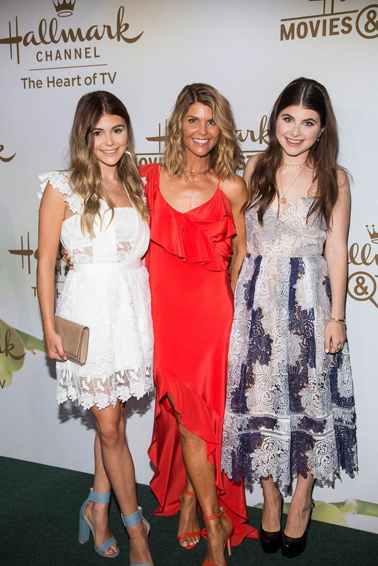 Hallmark Channel & Hallmark Movies & Mysteries TCA 2017 - When Calls the Heart star Lori Loughlin with her daughters Olivia and Bella.