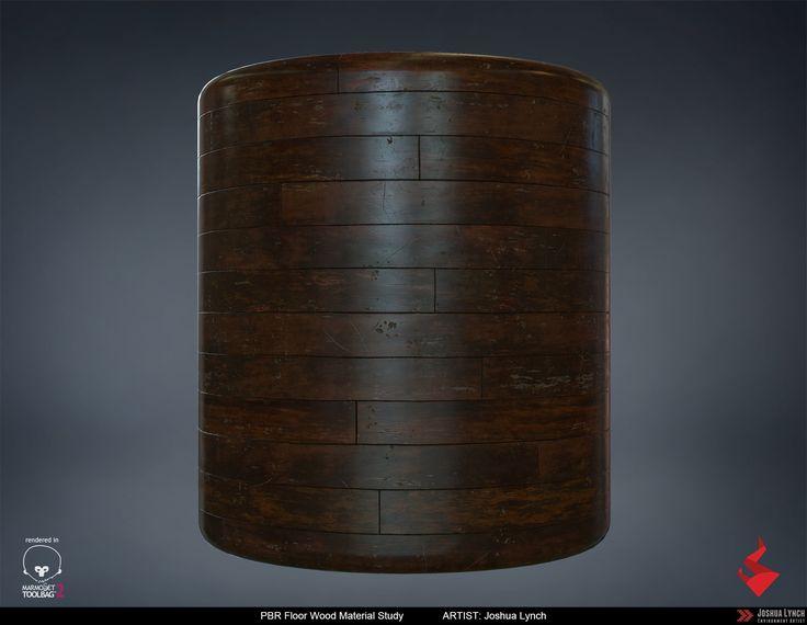 ArtStation - PBR Wood Floor Material Study, Joshua Lynch
