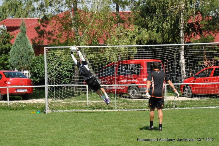 Keepersport Academy kemp - Peter Paluch and Matej Dovicovic (FC NITRA)