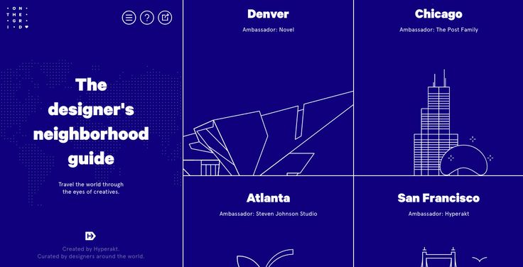 On The Grid City - Site of the Day September 29 2015