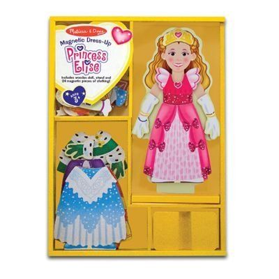 Melissa U0026 Doug Princess Elise Magnetic Dress Up Set. Her Highness, Princess  Elise Is A Delightful Magnetic Wooden Dress Up Doll With A Treasure Trove  Of ...