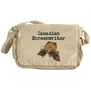 Canadian Screenwriter - beaver Messenger Bag