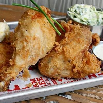 Proposition Chicken's Gluten Free Fried Recipe. If you love dining out in San Francisco, this restaurant is a place you must try :-) Dedicated GF fryer!