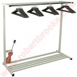 Emco Portable Rack System This Floor Includes 16 Open Hook Hangers Model Shown With The Boot Umbrella Holder Business Coat Church