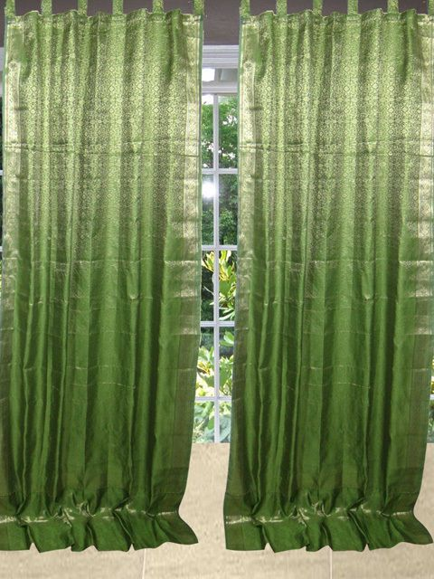 1000+ images about Window Silk Sari Curtains on Pinterest | Window ...