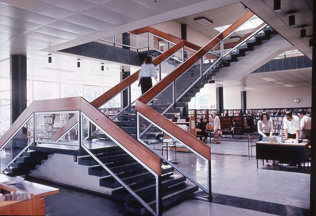 Harlow Town Centre Library | The JR James Archive