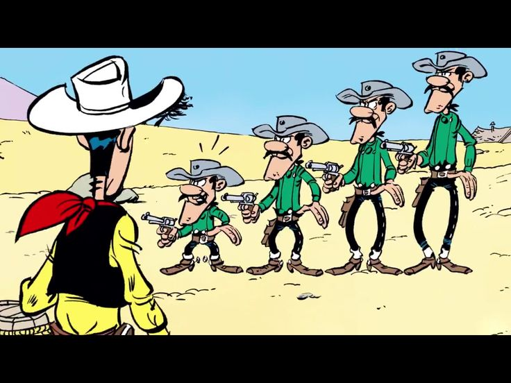 Lucky Luke new Edition