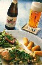 Een gerecht op Brusselse wijze: daar drink je een Gueuze Belle Vue bij.