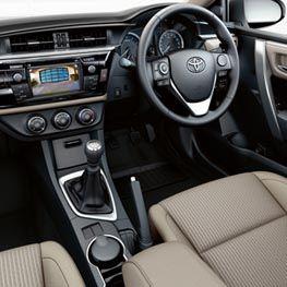 #Interiors #Toyota #Corolla