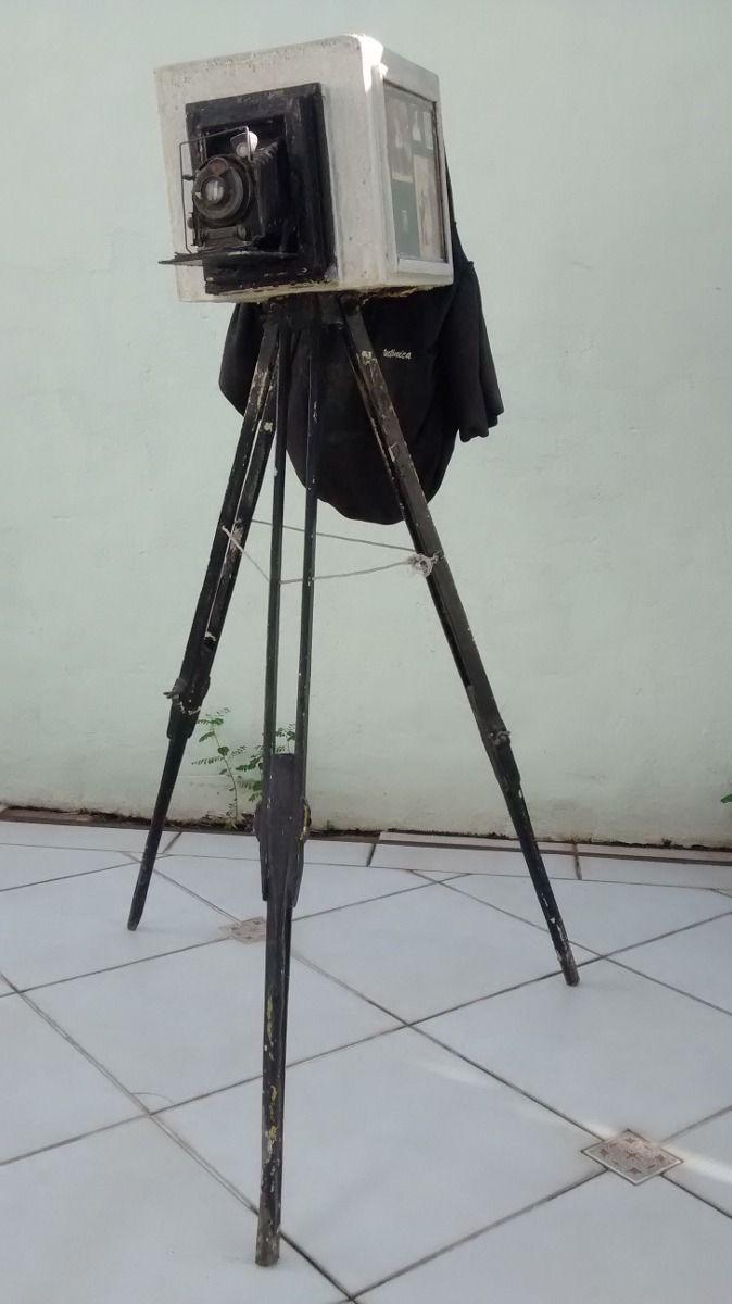 câmera antiga lambe-lambe clássica