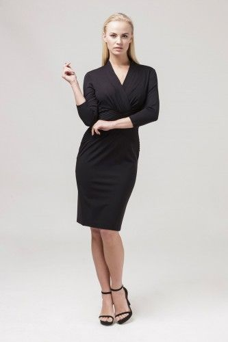 6L85762MX Sukienka wizytowa #littleblackdress #blackdress