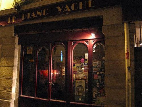 Le Piano Vache, - ok- dump the kids and go hang out with Johnny Depp tonight.