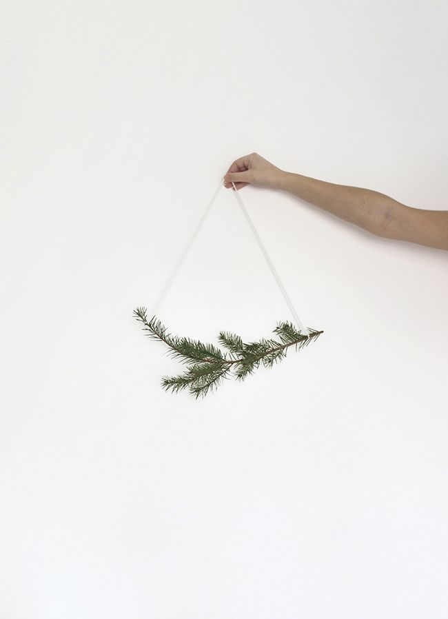 30 second holiday garland | almost makes perfect                                                                                                                                                                                 More