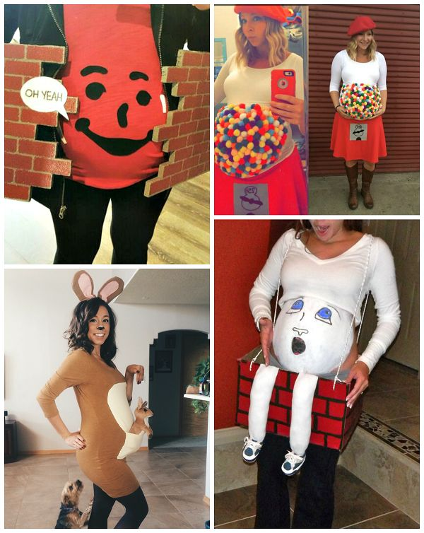 Clever Pregnant Halloween Costume Ideas - Crafty Morning