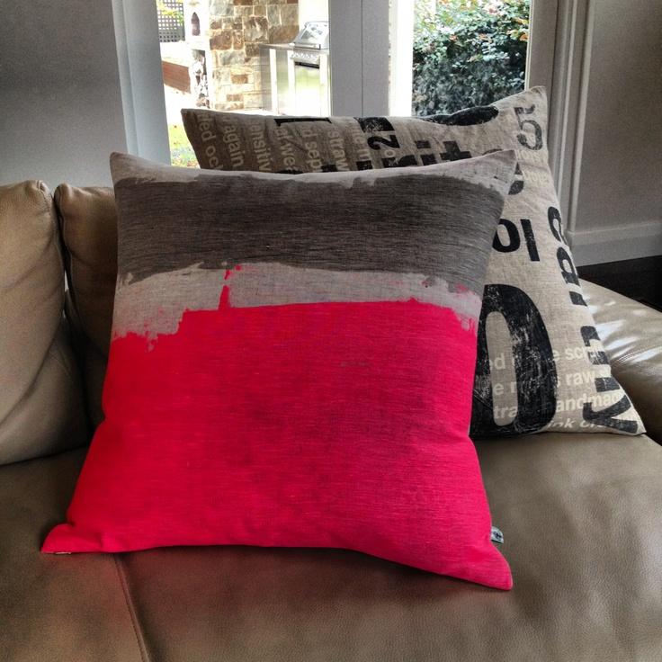 Neon cushion