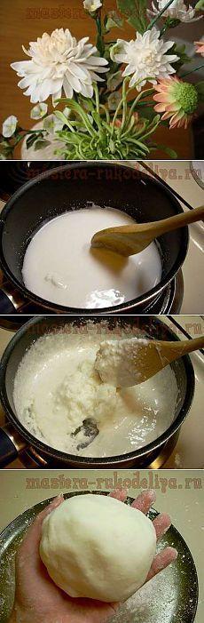 Холодный фарфор: 20 рецептов приготовления.