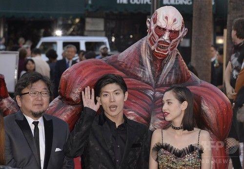 実写版『進撃の巨人』、ハリウッドでワールドプレミア