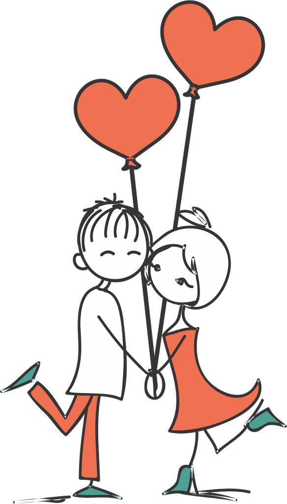 Desenho de noivinhos para convite   Bendito Papel