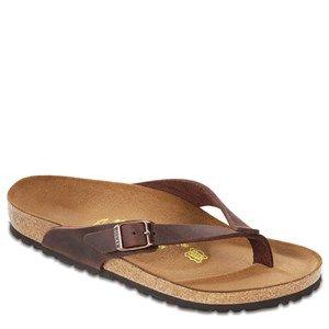 Happy Feet Plus® - Birkenstock Adria Leather Sandal at HappyFeet.com