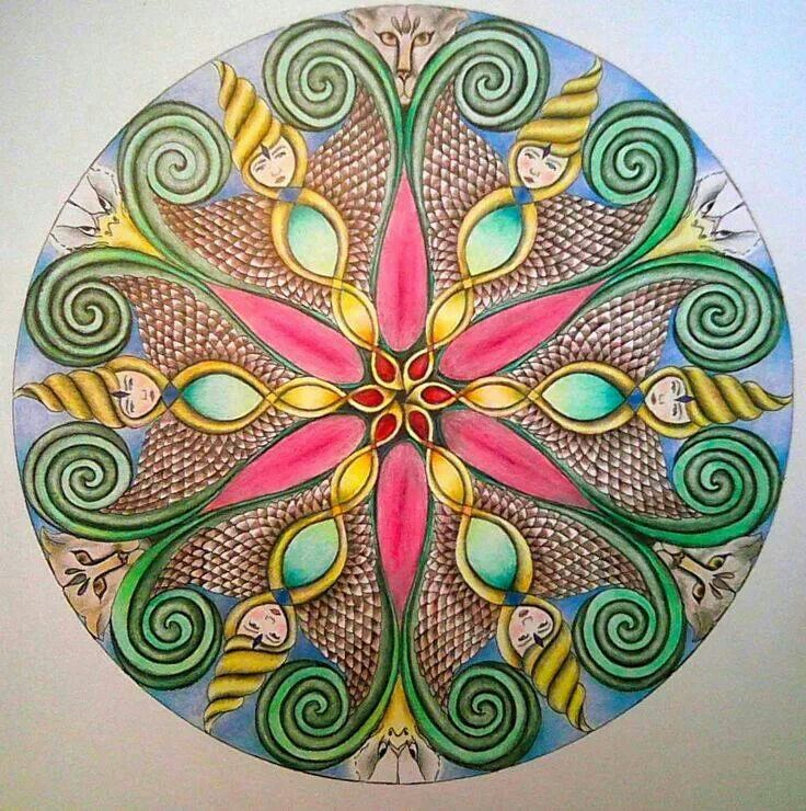 Mandala - Source : Jigidi