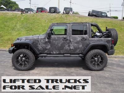 2014 Lifted Jeep Wrangler Unlimited Sport