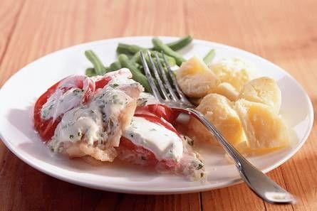 Roodbaars met griekse yoghurt - Recepten - Allerhande