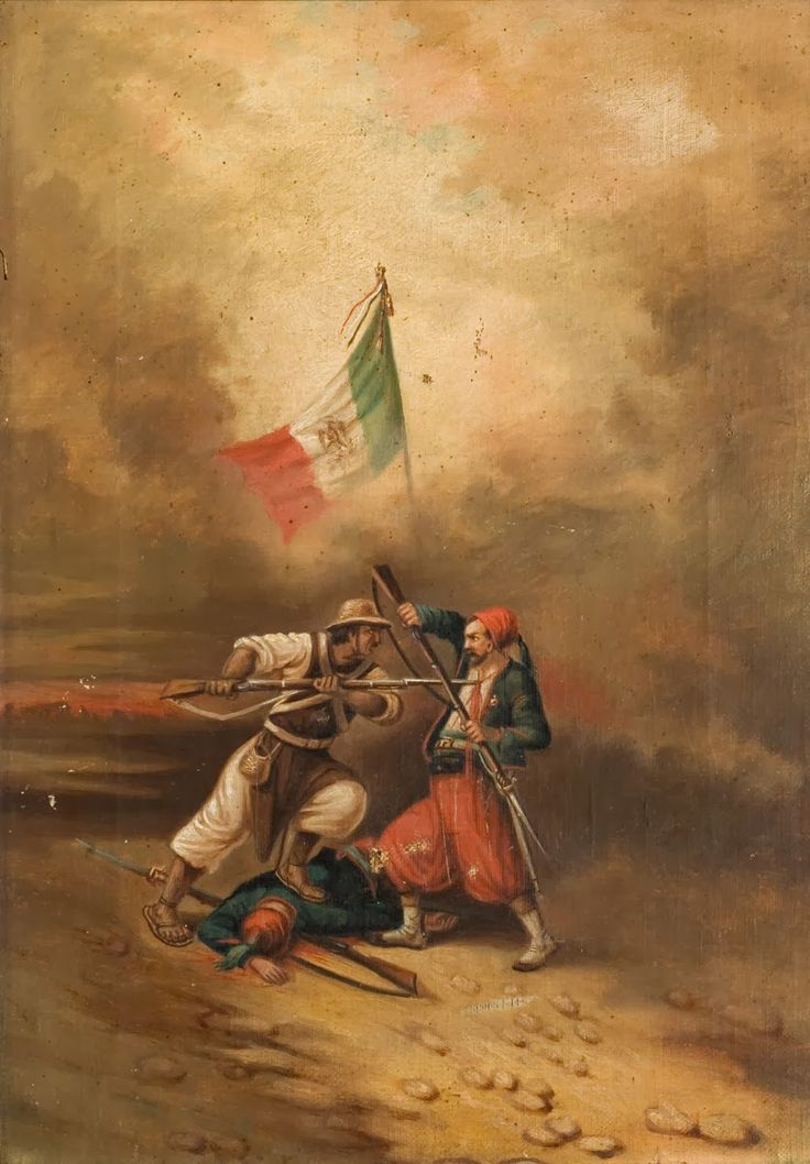 French Zouaves in Mexico