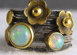Gemstone Rings - SilverSari