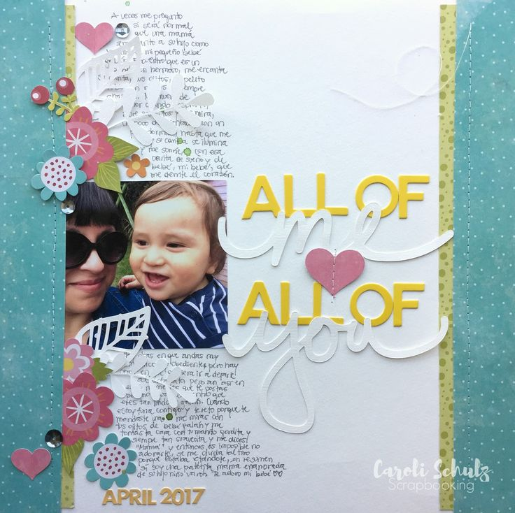 All of me Loves All of You - Scrapbook.com   Scrapbooking layouts baby,  Scrapbooking layouts, Scrapbook inspiration
