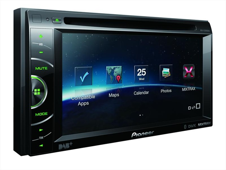 A sexy new, double-din DAB head unit - the AVH-X3500DAB