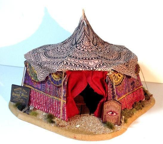 Kings tent idea, minus the fortune teller stuff