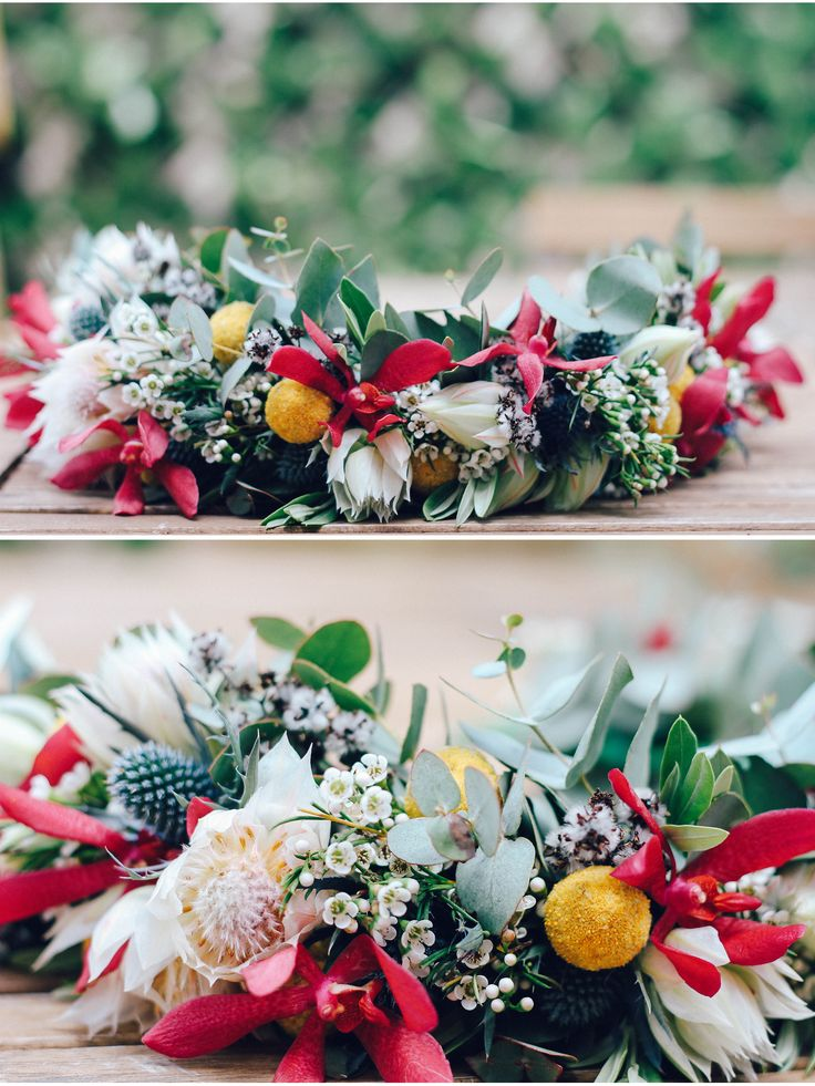 Floristry - Flower crown made from native Australian flowers