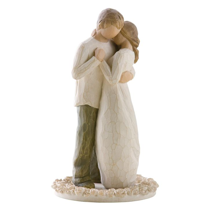 Willow Tree Promise Cake Topper, Susan Lordi 26189. Amazon. I would love this on a wedding cake