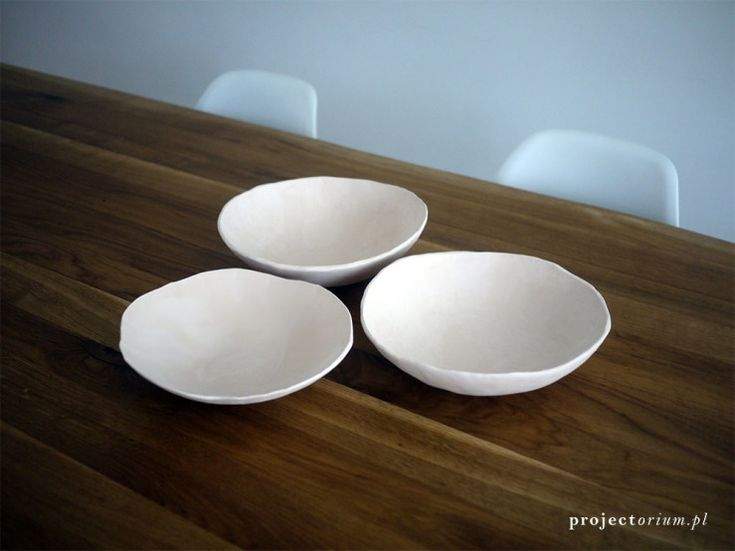 simple ceramic bowls, wedding gift idea, projectorium.pl