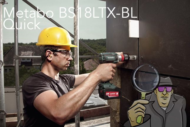 Metabo BS18LTX BL Quick