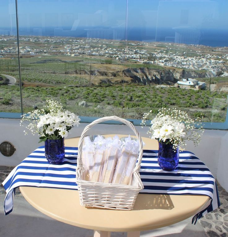 This striped fabric really brings life to this view!