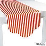 Orange Reversible Table Runner