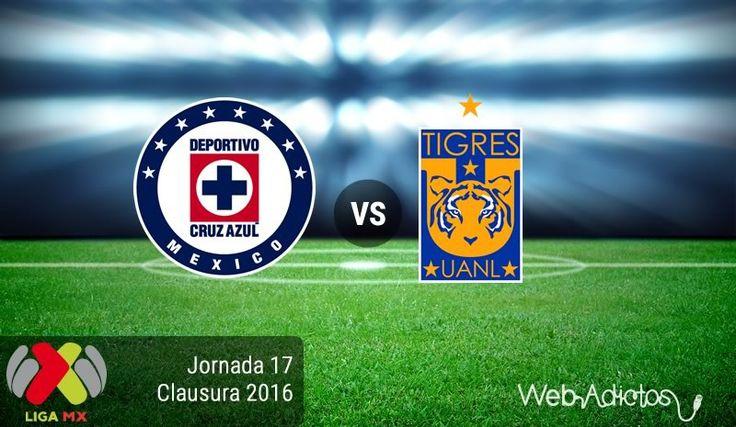 Cruz Azul vs Tigres, por el boleto a la liguilla ¡En vivo por internet!   Clausura 2016 - https://webadictos.com/2016/05/07/cruz-azul-vs-tigres-clausura-2016/?utm_source=PN&utm_medium=Pinterest&utm_campaign=PN%2Bposts