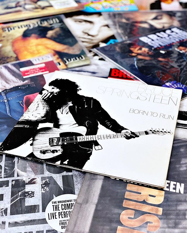 Happy Birthday To Bruce Springsteen Vinyl Record Theboss Springsteen Music Records Happybirthday Mus Vinyl Records Happy Birthday Born To Run