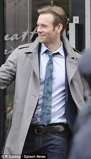 FSD      Eric Johnson as Jack Hyde  On set