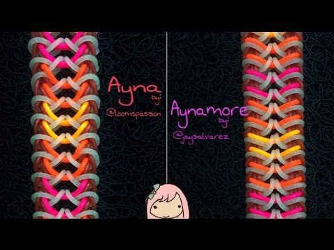 AYNA is an original design by @loomania0304 on Instagram. And AYNAMORE (a variation) is by @jaysalvarez. Tutorial is by @jaysalvarez. Special thanks to Doree...