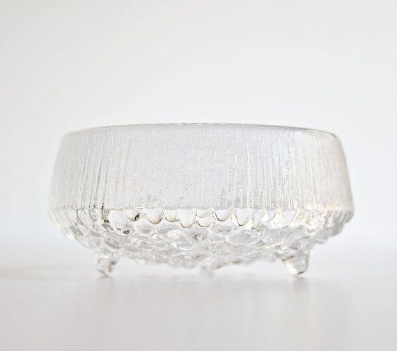 Vintage Iittala Tapio Wirkkala Ultima Thule Bowl