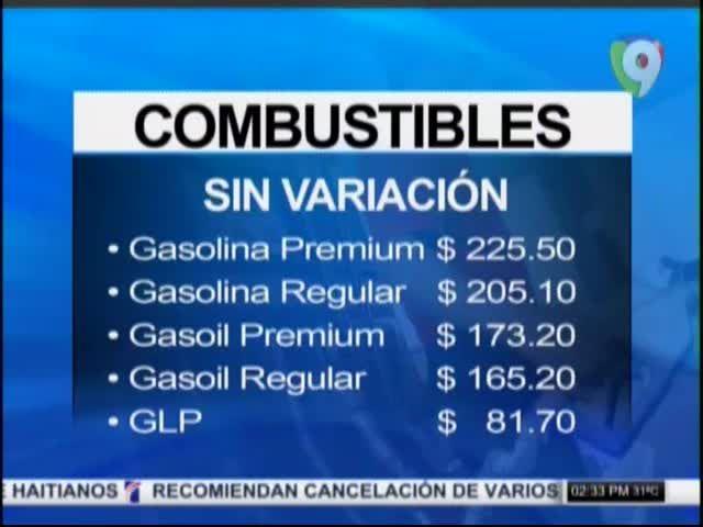 Precios De La Gasolina Seguirán Sin Variación Para La Semana Que Viene #Video