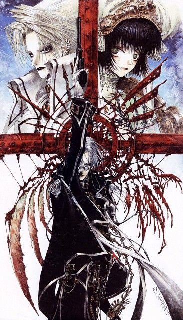 Shibamoto Thores, Gonzo, Trinity Blood, Fabrica Theologiae, Cain Nightroad