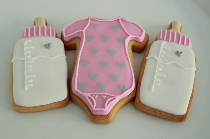 Baby shower cookies www.vintagecakecompany.pt